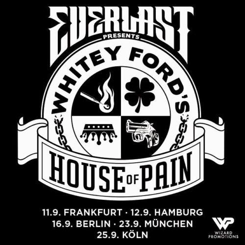 Everlast 2018 auf Tour