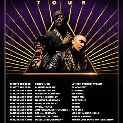 Black Eyed Peas – Masters Of The Sun Tour 2018