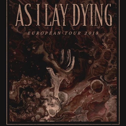 As I Lay Dying – Tour im Dezember