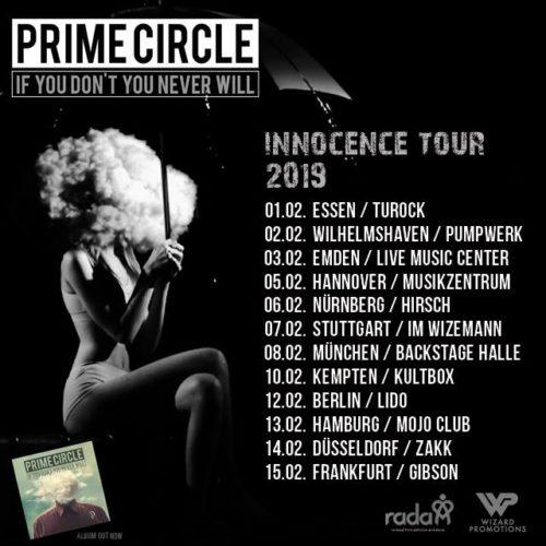 Prime Circle – Innocence Tour 2019