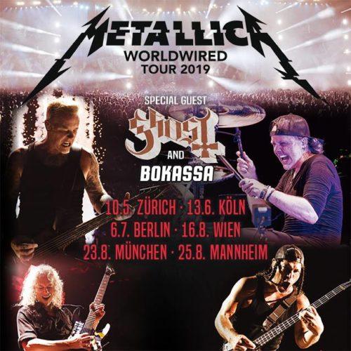 Metallica – 2019 wieder in Mannheim auf der Bühne