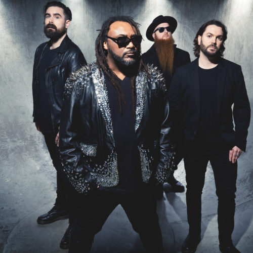 Skindred auf Tour