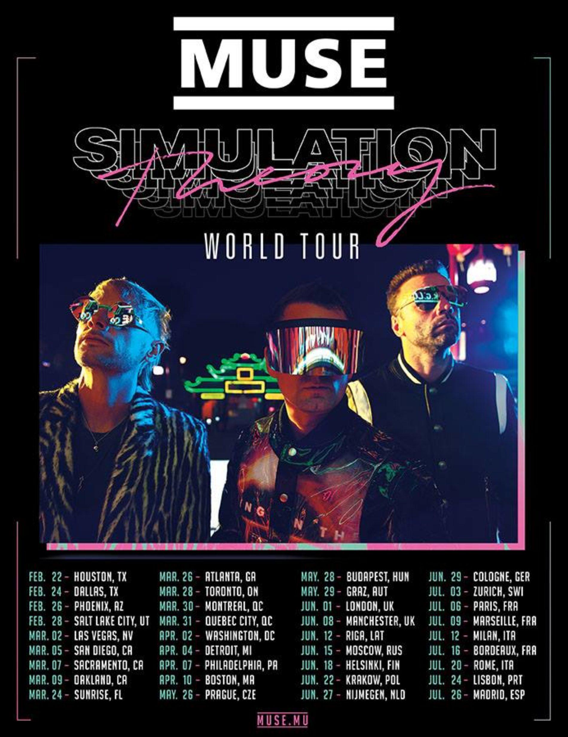 Muse – Tour 2019